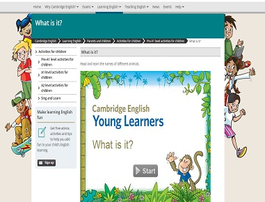 eLearning modules for Cambridge English
